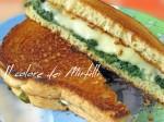 sandwich spinaci e scamorza