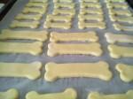 biscotti alla banana per cani, biscotti per cani, biscotti banana, banana, biscotti, cani