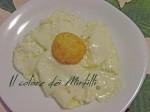 Uovo fritto, uovo carlo cracco, Uovo, uovo camicia, tuorlo impanato e fritto