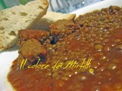 lenticchie e salsiccia, lenticchie, legumi