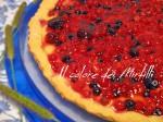 crostata ai frutti di bosco,crostata,frutti di bosco,dolci,ricette,torta
