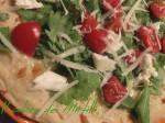 pizza bianca rucola pachino e grana, pizza, pizza bianca, focaccia