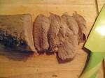 Roast beef in crosta di sale, roast beef, roast beef pomodorini rucola e grana, secondi piatti, carne bovina, arrosto, secondi di carne, scamone