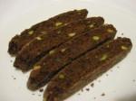 Biscotti di cioccolato e pistacchi