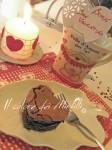 cuori al cioccolato, torta al cioccolato, cioccolato, san valentino, ricette san valentino
