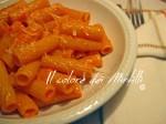 rigatoni ai peperoni rossi, pasta ai peperoni, pasta peperoni e panna, peperoni, primi piatti