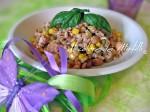 insalata,insalta di farro,farro,piatti veloci,facile,ricette estive,light,leggero